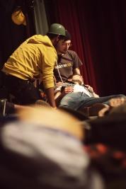 Luigi viene ferito