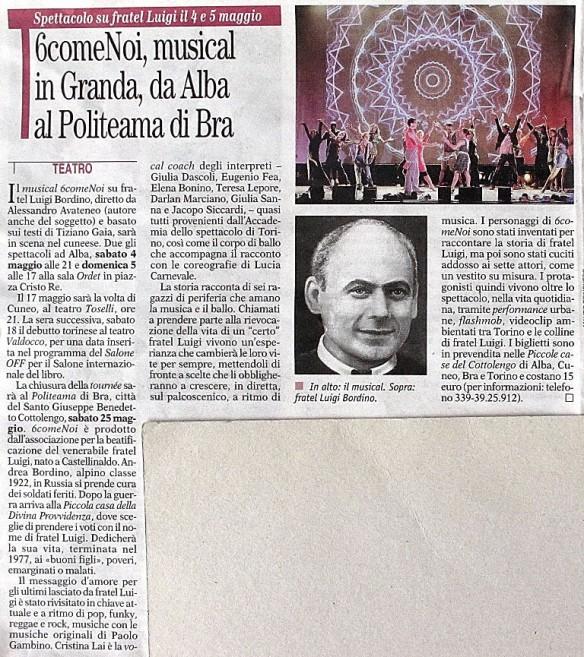 6comeNoi su Gazzetta d'Alba